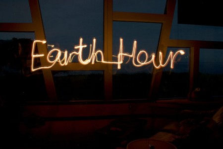Cities around the world dim their lights each year for Earth Hour--the better to see the stars. Photo: Christian Haugen, Creative Commons, some rights reserved