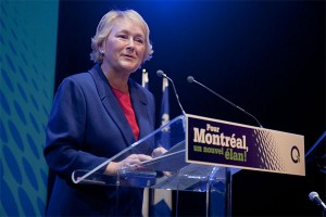 PQ leader Pauline Marois at a symposium in 2010. Photo: Parti Quebecois, Creative Commons, some rights reserved