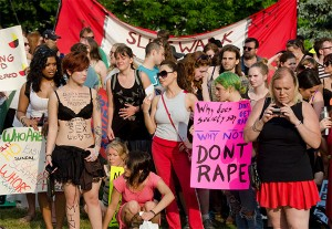 "College students have been at the forefront of trying to change the ""culture of rape"" with high-profile events such as this ""Slut Walk"" in Toronto. Photo: Eric Parker, Creative Commons, some rights reserved"