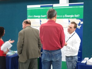 TransCanada presents their case for Energy East at this informational session in North Gower, Ontario. Photo: Lucy Martin