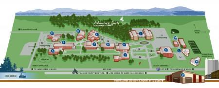 The SUNY Adirondack campus. Image: SUNY Adirondack
