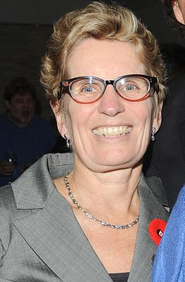 The incumbent: Liberal Kathleen Wynne (image: Wikipedia)