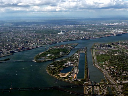 The St. Lawrence Seaway at Montreal. Photo: Susan Novak, Creative Commons, some rights reserved