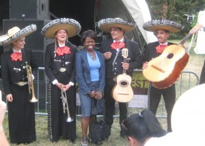 Enjoying a Mariachi band at Rideau Hall's 2011 concert series. Photo: Lucy Martin
