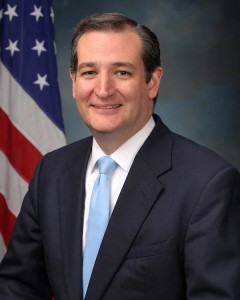 Ted Cruz, official portrait, 113th Congress. No longer Canadian.