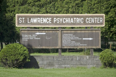 St. Lawrence Psychiatric Center, where the crime took place. Photo: Lizette Haenel