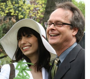 Marc Emery and wife Jodie Emery at Toronto Freedom Festival, May 2010. Source: Wikipedia
