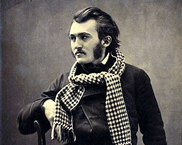 """Paul Gustave Dore"" by Felix Nadar 1855-1859. Pretty dashing, eh? Portrait (detail): Public domain"