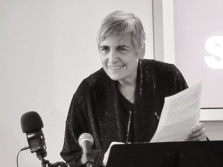 Margot Adler at Soho Gallery for Digital Art in 2013. Photo: Houari B., Creative Commons, some rights reserved