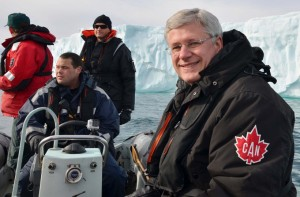 This August, Stephen Harper became the first Canadian Prime Minister to travel to the Northwest Passage. Photo: Prime Minister's Office