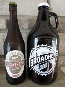 Just two of many craft beers featured at this weekend's festival. Photo: Lucy Martin