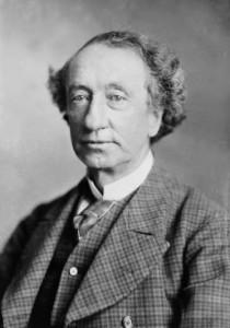 Sir John A. Macdonald circa 1878. Canada's first Prime Minister was born in Scotland.