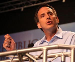 Tim Pawlenty a day before pulling out of the 2012 presidential race.  Photo:  Gage Skidmore via Wikipedia.