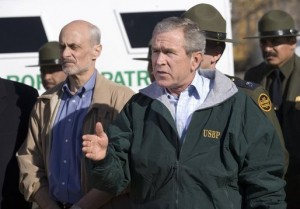 President Bush's team hired Stefanik out of college in 2006. Photo: White House via Wikipedia