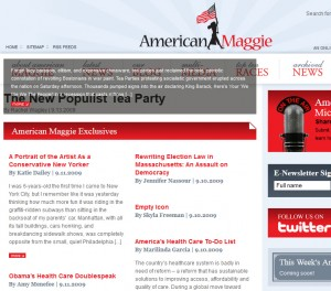 "Elise Stefanik launched ""American Maggie"" in 2009, featuring the writing of authors ranging from Christie Whitman to Sarah Palin."