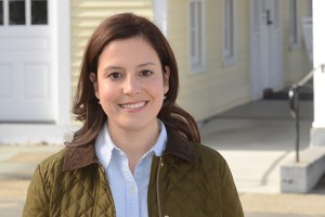 Elise Stefanik moved to Willsboro, in Essex County, last year after nearly a decade of operating at the highest level of power in Washington DC.  Photo:  Stefanik campaign