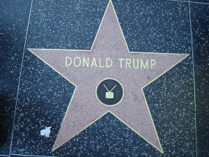 """Donald Trump star Hollywood Walk of Fame"" by Neelix: I am the originator of this photo. I hold the copyright. I release it to the public domain. - transferred from the English Wikipedia: en:File:Trump.jpg. Licensed under Public Domain via Wikimedia Commons - https://commons.wikimedia.org/wiki/File:Donald_Trump_star_Hollywood_Walk_of_Fame.JPG#/media/File:Donald_Trump_star_Hollywood_Walk_of_Fame.JPG"