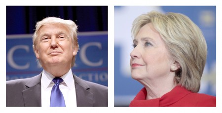 Donald Trump (R) and Hillary Clinton (D) | Photos: Gage Skidmore, Creative Commons, some rights reserved